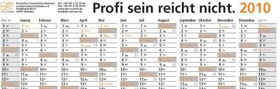 djv-wandkalender