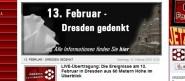 Dresdner Medien zum 13. Februar: Dresden Fernsehen