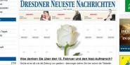 Dresdner Medien zum 13. Februar:
