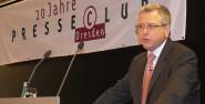 Persönlichkeitsrecht contra Pressefreiheit? Spyros Aroukatos im Forum am Altmarkt