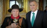 Der Presseclub Dresden überreichte den Erich Kästner-Preis 2012 an Gunter Demnig
