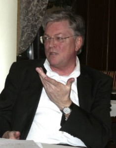 Michael Sagurna, Präsident des Medienrats der SLM