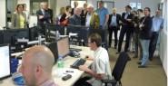 Presseclub besucht DNN im neuen Domizil