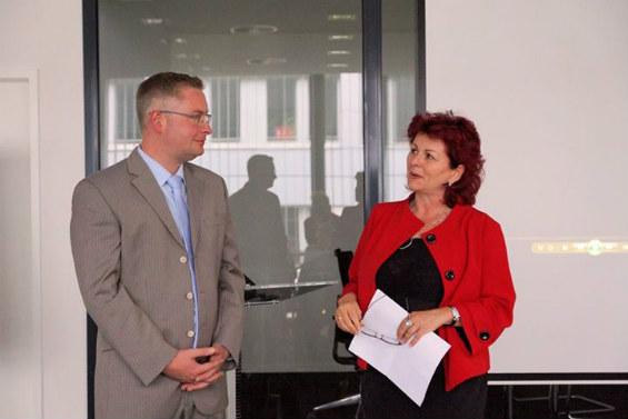 ITARICON Geschäftsführer Daniel Kunze und Viola Klein