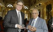 Erich Kästner-Preis an Kabarettisten Dieter Hildebrandt verliehen