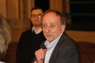 Presseclub auf großer Bühne - Intendant Wilfried Schulz führt durch das Staatsschauspiel