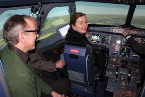 Pilotin Petra Gehlich