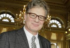 Roger Willemsen bei der Erich Kästner-Preisberleihung 2013