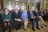 v.l.n.r.: Helga Busek, Dr. Erhard Busek, Anna Dutkiewicz, Dr. Rafal Dutkiewicz und Bettina Klemm