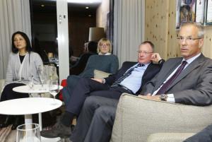 Clubabend mit Innenminister Sachsens Markus Ulbig am 3. April, 19.00 Uhr Im Avernstübli des Swissôtel Schlosstraße 16, 01067 Dresden. / Foto: Ralf U. Heinrich /