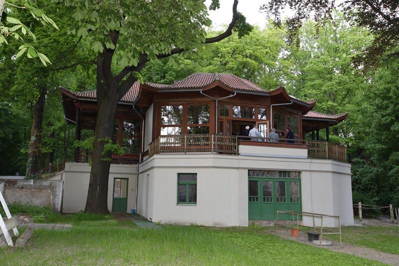 Presseclub im Chinesischen Pavillon
