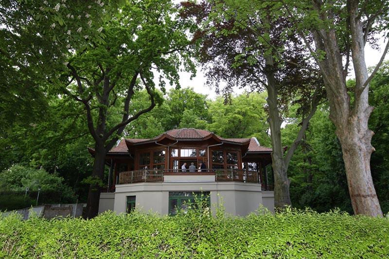 Chinesischer Pavillon, Bautzner Landstraße 17a