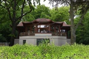 Presseclub zu Besuch im Chinesischen Pavillon, Bautzner Landstraße 17a, / Chinesischer Pavillon zu Dresden E. V. / am 22.05.2017 / Foto: Ralf U. Heinrich